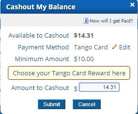 cobrar tango card clixsense