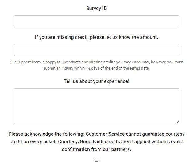 survey id min